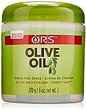 Organic Root Stimulator Olive Oil Cream, 6 Ounce