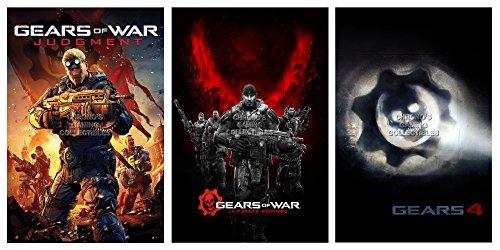 """CGC Poster grande, motivo Gears of War giudizio Ultimate Edition 4, XBOX ONE, GEASET3, Carta, 24"""" x 36"""" (61cm x 91.5cm)"""