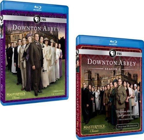 Downton Abbey: Complete Seasons 1 & 2 (5 Blu-ray Discs)