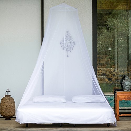 Even Naturals Mosquito Net Double Bed Conical Curtains Fly Screen Netting Insect Malaria