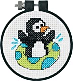 Dimensions Needlecrafts Counted Cross Stitch, Playful Penguin