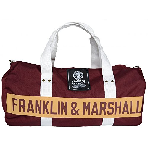 franklin-marshall-ua946-bordeaux-gym-bag-one-size