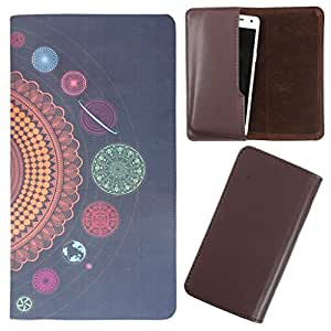 DooDa - For Gionee Marathon M2 PU Leather Designer Fashionable Fancy Case Cover Pouch With Smooth Inner Velvet