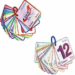 Magic Alphabet & Number Flash Cards Set