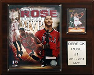 NBA Derrick Rose 2010-11 NBA MVP Chicago Bulls Player Plaque by C&I Collectables