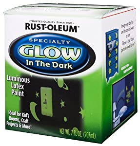 Rust oleum 214945 glow in the dark 7 ounce - Rust oleum glow in the dark paint exterior collection ...
