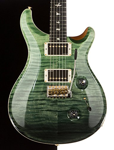 2014 Prs Custom 24 Msl Limited Run, Trampas Green Fade, Korina Neck/Ebony Board