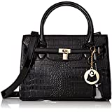 MG Collection Hessa Structured Tote Purse Convertible Shoulder Bag