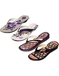 Krocs Super Comfortable Combo Pack Of 2 Pair Flip Flop With 2 Pair Slippers For Women (Pack Of 4 Pair) - B01JS6SCNI