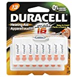Duracell Batteries, Hearing Aid, Zinc Air, 13, 16 batteries