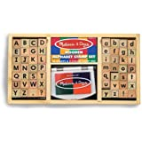 Melissa & Doug Deluxe Alphabet Stamp Set