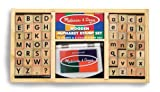 Melissa and Doug Deluxe Alphabet Stamp Set
