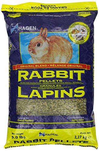 Hagen Rabbit Pellets, 5-Pound