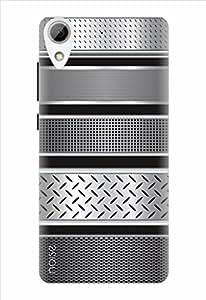 Noise Designer Printed Case / Cover for HTC Desire 626G Plus / Patterns & Ethnic / Steel Stripes Design