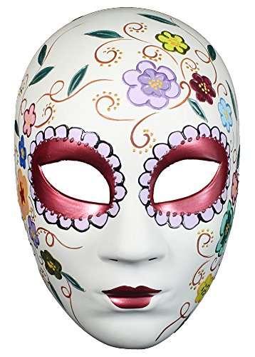 RedSkyTrader Womens Day of the Dead Skeleton Mask