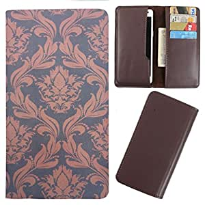 DooDa - For Gionee Pioneer P4 PU Leather Designer Fashionable Fancy Case Cover Pouch With Card & Cash Slots & Smooth Inner Velvet