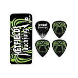 Dunlop PH112T1.14 Hetfield Black Fang, 1.14mm, 6 Picks/Tin