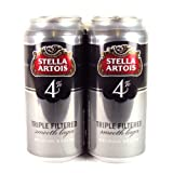 Stella Artois Triple Filtered Smooth Lager 4 Pack 2000g