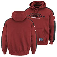 Arizona Cardinals Passing Game III Hooded Sweatshirt by Majestic by VF
