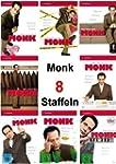 Monk - Staffel 1 - 8 [32 DVD Boxset]...