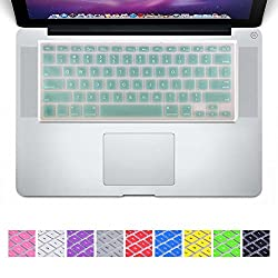 DHZ New Arrival Noble Pearl Green Keyboard Cover Silicone Skin for MacBook Air 13