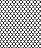 7mm Polyester Hex Mesh - Black Fabric - by the Yard