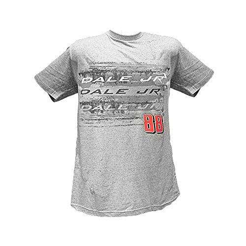 Checkered Flag #88 Dale Earnhardt Jr. Diet Mt.Dew Men'S Grey Blur Tee Medium
