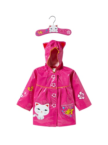 Kidorable Lucky Cat Raincoat Pink 4t Елизавета Самойловаho