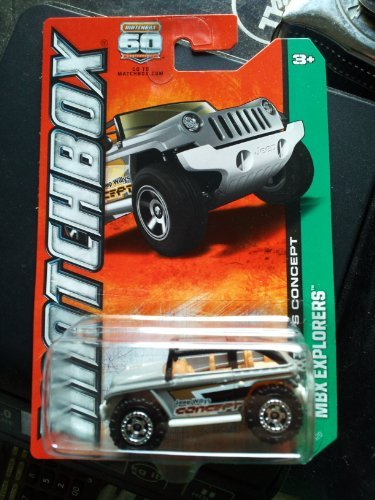 2013 Matchbox MBX Explorers - Jeep Willys Concept - 1