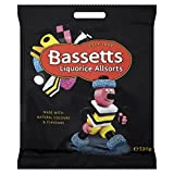 Bassetts Liquorice Allsorts 130 g (Pack of 12)