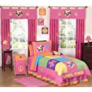 Groovy Peace Sign Childrens Bedding 3pc Full Queen Set By Sweet Jojo Designs