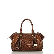 Small Faye Satchel<br>Pecan Melbourne