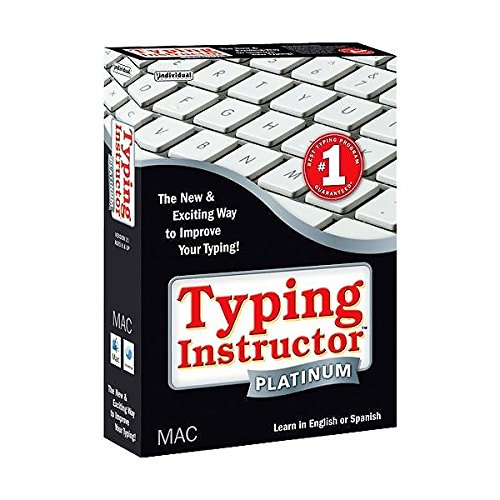 Typing Instructor 21 Platinum Kids to Adults for Mac (Typing Instructor Mac compare prices)