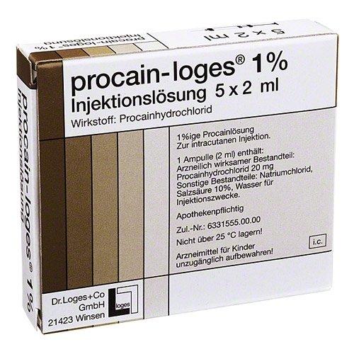 PROCAIN LOGES 1% Injektionslösung Ampullen 10 ml Ampullen