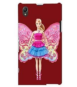 SONY XPERIA Z1 ANGEL GIRL Back Cover by PRINTSWAG