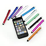 Liroyal 10 Pcs Stylus Set Touch Screen Cellphone Tablet Pen for iPhone 4G 3G 3GS iPod Touch iPad 2 3 SONY PLAYSTATION PSP PS VITA Motorola Xoom Samsung Galaxy