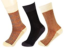 Abracadabra Men's Long Socks (Pack Of 3) (DNCS15016_Multi)