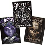 Bicycle Anne Stokes II, Alchemy II & Club Tattoo 3-deck combo