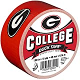Duck Brand 240266 University of Georgia College Logo Duct Tape, 1.88-Inch by 10 Yards, Single Roll