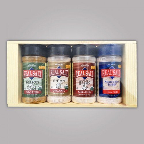 Real Salt 4.75oz Organic Seasoning Gift Box