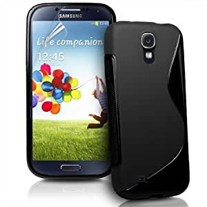 S Line Silicon Back Cover FOR Samsung Galaxy Grand S4 i9500 + CAR CHARGER FREE