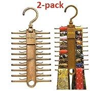 2-Pack Tenby Tie Racks, Organizers, H…
