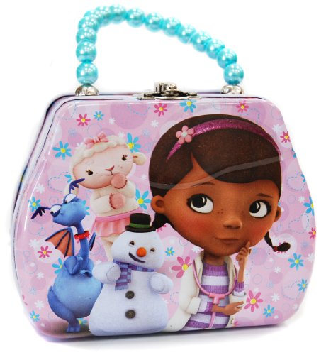 "Disney Doc McStuffins Tin Hand Bag -5""*4"""