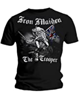 Official T Shirt IRON MAIDEN Watermark SKETCHED TROOPER Vintage Eddie All Sizes