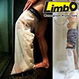Limbo Waterproof Cast Protectors - For Showers AND Baths! (Adult Below Knee)
