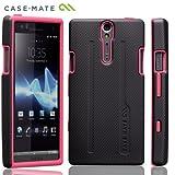 Case-Mate docomo Xperia NX SO-02D Hybrid Tough Case, Black/Pinkハイブリッド タフ ケース, ブラック / ピンク CM020251