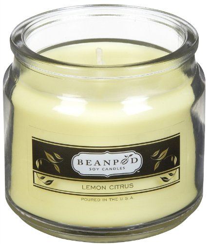 Beanpod Candles Lemon Citrus, 4.5oz Jar