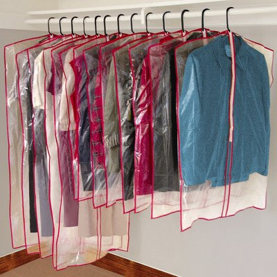 13 Piece Garment Bags (Dress Garment Bags Clear compare prices)