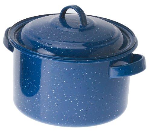 GSI Outdoors 5.75-Quart Stock Pot (Blue) (Enamel Cookware compare prices)