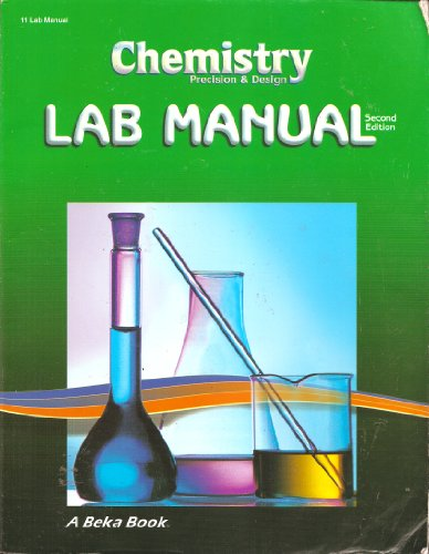 chemistry lab manual 1 lab manual advanced inorganic chemistry laboratory 2002-2003 department of chemistry and biochemistry la salle university michael j prushan.